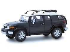 Toyota FJ Cruiser diecast model by Auto Art in Black. by Auto Art Diecast Car Models -- Awesome products selected by Anna Churchill