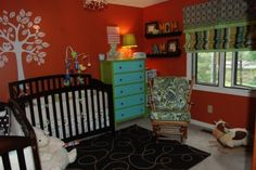 Gorgeous Twin nursery! @Gracie Jackson I found this on my IAP website and I immediately thought that you should do this for your little boy!!