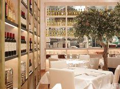 Luxury Modern Mediterranean Restaurant Interior Design Fig Olive New York
