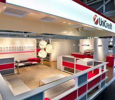 UniCredit / #ExpoReal / München Interesse an einem Messetand? Kontaktieren Sie uns: http://www.wum.de/aschaffenburg/  #Messebau #wumdesign #wum #Messestand