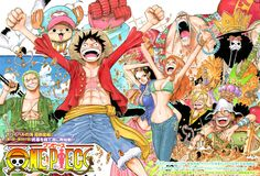 One Piece Color Spread : Chapter 598 - That colorspread. The 2YL Reunion!!