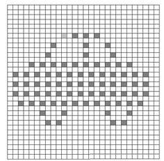 Ravelry: Car bobble chart pattern by Teri Heathcote Crochet Puntada Bobble, Bobble Stitch Crochet Blanket, Crochet Granny Square Afghan, Crochet Squares, Baby Blanket Crochet, Granny Granny, Graph Crochet, Crochet Quilt, Crochet Blocks