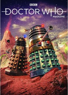 Doctor Who Magazine, Doctor Who Wallpaper, Doctor Who Art, Dalek, Dr Who, Science Fiction, Sci Fi, Guys, Comics