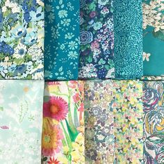 Turquoise Bundle, you know the way to my heart!  I'm quite partial to that light Yoshie  But there's so many good ones in here, it's hard to pick a favourite! Which one do you like the most? Thorpe, Capel, Elysian, Tom Dailey, Archive Lilac...  Yoshie, Tresco, Michelle, Fluttering and Sue! . . . . #thestrawberrythief#liberty#loveliberty#libertybundle#turquoise#tresco#thorpe#yoshie#fluttering#capel#blueandgreen#tanalawn#libertyfabric#libertytanalawn#libertycotton#fabric#sewing#...