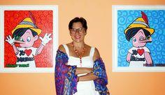 Honys Torres Artista Neo POP: En el Museo de Arte Contemporáneo de Cumaná