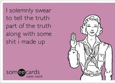 This what Jodi Arias should of said when being sworn in for her trial!!