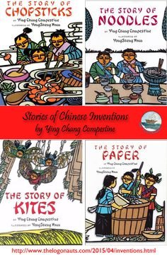 Stories of Chinese Inventions | The LogonautsFun collection of stories about the imagined invention of ancient products by the creative Kang boys in ancient China!