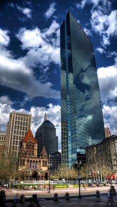 John Hancock Tower in Boston, Massachusetts, U.S (by Werner Kunz on Flickr)
