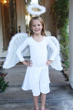 Angel costume #notricksalltreats