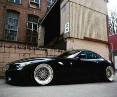 BMW E89 Z4 black slammed