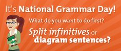 March 4th is Nat'l Grammar Day! Page will link to official site (which doesn't pin).