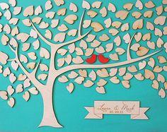 Custom Wedding Guest Book Alternative Wedding by signINstyle