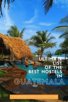 Helpful hostel information for those heading to Guatemala Belize, Oh The Places You'll Go, Places To Travel, Travel Destinations, Tikal, Livingston, Honduras, Costa Rica, Atitlan Guatemala