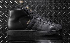 "adidas Originals Pro Model ""Black & Metallic Gold"""