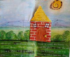 http://paintonmywalls.blogspot.com/  Pop Up Art Journal Page