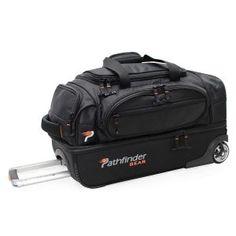 5d406a46f2e Pathfinder Luggage Gear 22'' Suitcase Rolling Drop Bottom Duffel Drop,  Honeycomb, Duffel