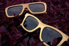 bamboo sunglasses- Why go mainstream and sport only plastic and metal sunglasses? Stand out in the crowd with these uber cool bamboo shades.