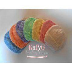 Neonatal prem baby hat Free – Knitting patterns, knitting designs, knitting for beginners. Baby Hat Knitting Pattern, Baby Hats Knitting, Knitting Patterns Free, Knitting Yarn, Free Knitting, Knitted Hats, Knitting Ideas, Knitting Projects, Kids Knitting