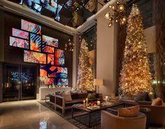 Lounge Turismo - No Natal, luxuoso hotel de Nova York ganha decoração exclusiva e loja boutique de renomada designer de eventos