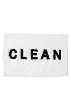"""""""CLEAN"""" bath mat"""