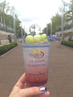 The world famous Honey Deuce cocktail at the US Open Tennis Championships in Flushing, New York.