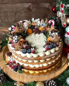 66 Ideas For Birthday Cake Decorating Candy Food Dessert Party, Party Desserts, Holiday Baking, Christmas Desserts, Dessert Recipes, Christmas Candy, Fruit Party, Party Candy, Parties Food