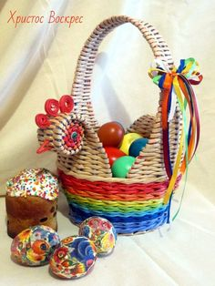 (22) Одноклассники Sun Paper, Newspaper Crafts, Paper Basket, Cozy House, Wicker, Projects To Try, Weaving, Jar, Home Decor