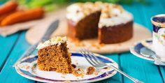 Carrot cake saludable navideño