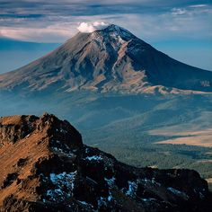 Can you guess which volcano it is? :) #Travel #In #Mexico www.inmexico.net