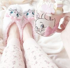 Going along the lines of her cute and bubbly personality she's still very in touch with her younger self so still loves Disney. Kawaii Fashion, Cute Fashion, Cute Slippers, Disney Mugs, Princess Aesthetic, Aristocats, Cute Mugs, Everything Pink, Pretty Pastel
