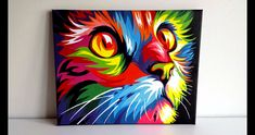 OFF Entire Store. Create an Amazing experiences with loves one while releasing stress and decorating your Space. Colorful Drawings, Cool Art Drawings, Numero D Art, Lion Painting, Poster Color Painting, Pop Art Images, Arte Pop, Diy Canvas Art, Animal Paintings
