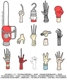 A Guide to Famous Movie Hands - Imgur