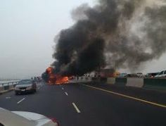 BLOG WITH FURY: PHOTOS: ONE PERSON KILLED AS FIRE GUTS COMMERCIAL ...