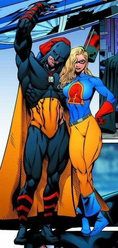Hourman & Liberty Belle #dcu