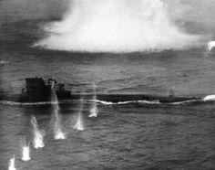 U-869 under attack