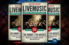 Live Music Flyer - Flyers - 1