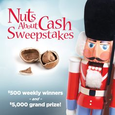 Enter the 2014 holiday sweepstakes for a chance to win up to $5,000!