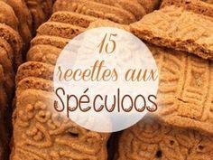 15 recettes aux spéculoos !