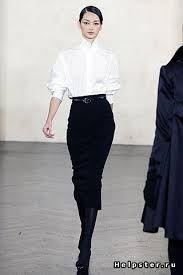 юбка карандаш с черными колготками - Поиск в Google