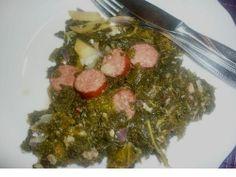 Deftiger Grünkohl-Eintopf #Grünkohl #Kale