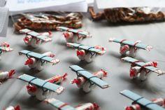 Aviones de dulces