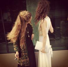"Pamela Love and Jemima Kirke on ""Hair Situation"" // CFDA Awards."