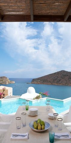http://famous-quotes-and-wise-sayings.tumblr.com/    Domes Royal Spa Villa... #Crete   #Luxury #Travel Gateway VIPsAccess.com