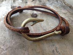 Crochet de Bracelet cuir