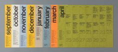 College of Fine Arts Events Calendars Graphic Design Layouts, Graphic Design Typography, Layout Design, Branding Design, Design Design, Design Ideas, Calendar Layout, Calendar Design, Event Calendar