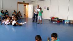 Oficina realizada, no Verão de 2017, na escola básica de Vila Nova da Caparica