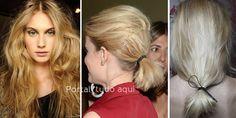 Cabelo feminino-penteado-messy-tendência primavera-verão 2016