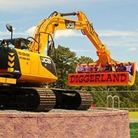Diggerland A New Jersey Theme Park for Construction