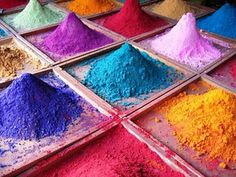 Holi Festival colors, India