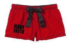 Women's Have Faith Boxers
